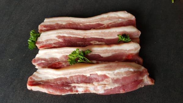 Poitrines de porc x 4